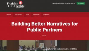 Public Performance Partners - Website Screen Cap